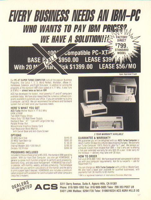 1986 PC ad